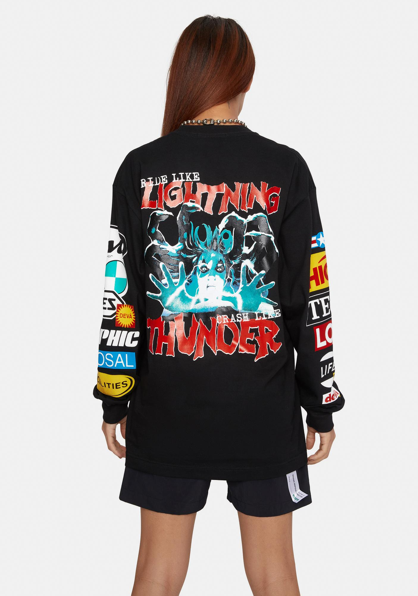 Deva States Lightning Graphic Tee