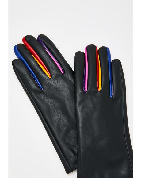 Amara Rainbow Gloves