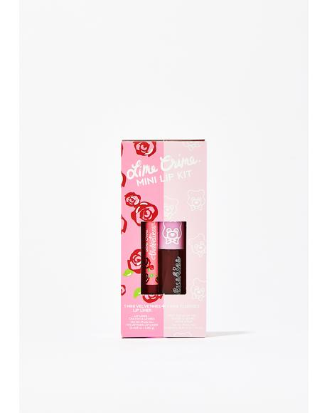Cranberry Jelly Mini Lip Kit