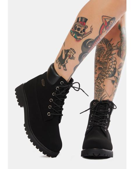 Black Convoy 6-Inch Boots