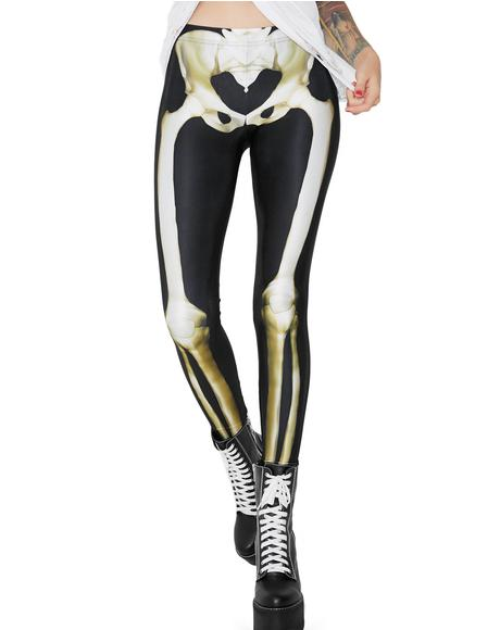 Graveyard X-Ray Leggings