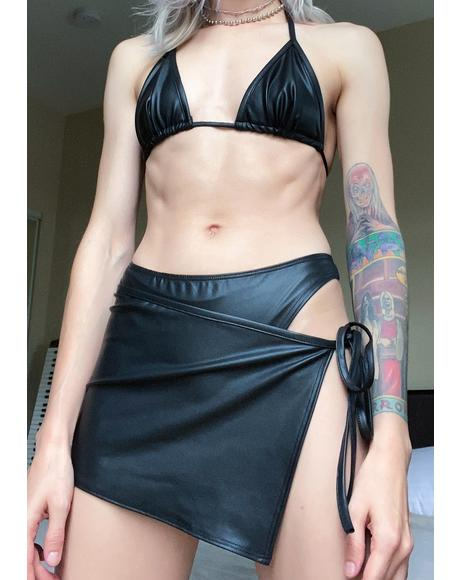 Hot And Dangerous Skirt Set