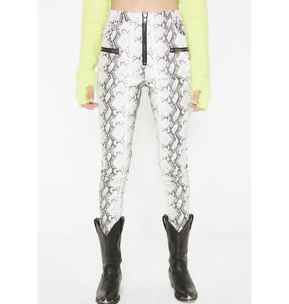Honey Punch Venomous Love High Rise Pants