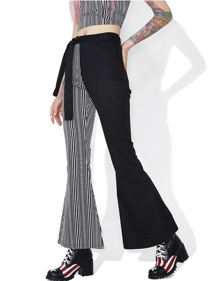 Lexi Striped Flares