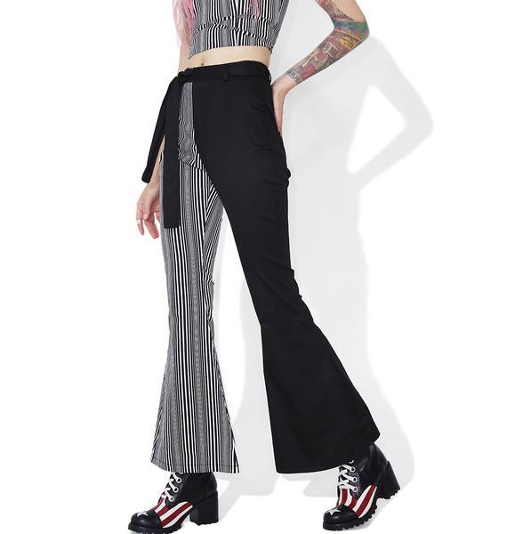 Lexi Striped Flares