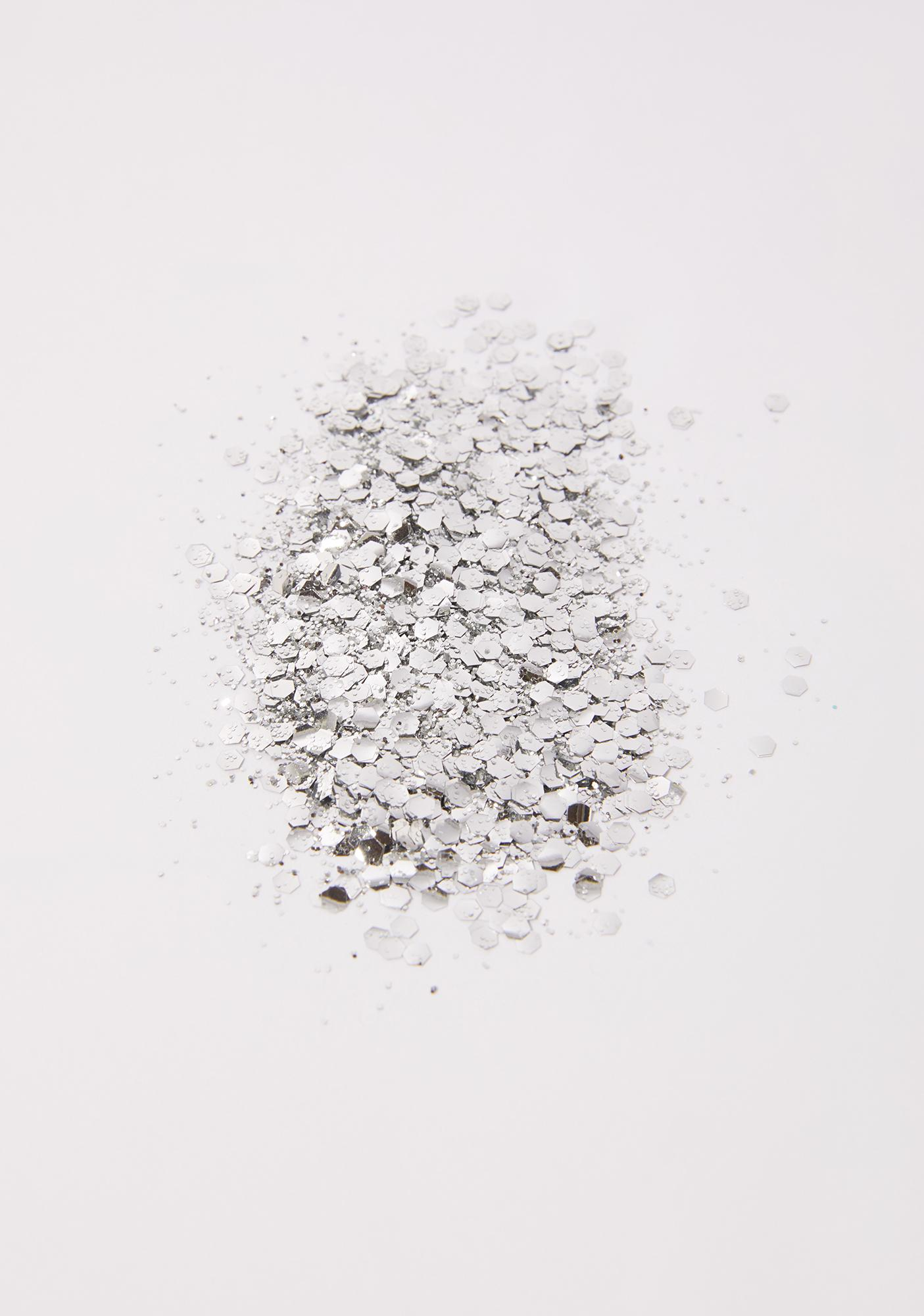 A Beautiful Weirdo Straight Up Silver Eco Glitter