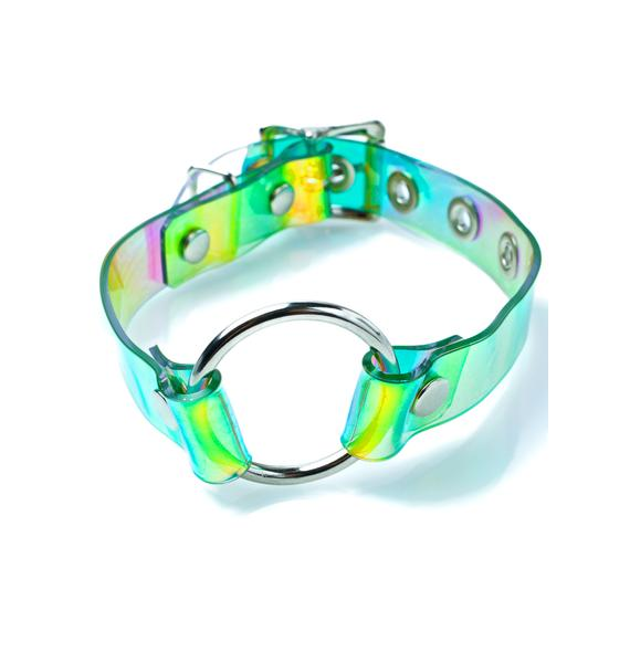 Apatico Oh My Holographic Choker