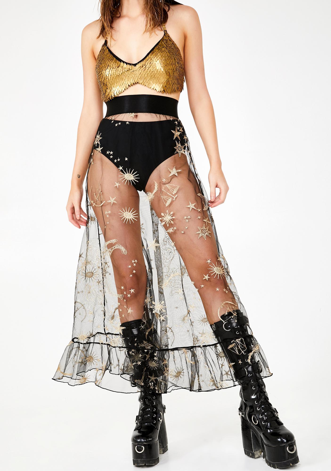 Luna Eclipse Maxi Skirt