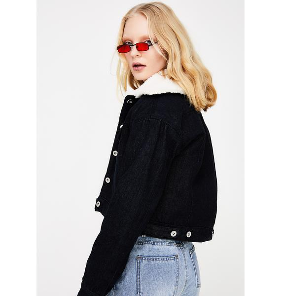Cuffing Szn Cropped Jacket
