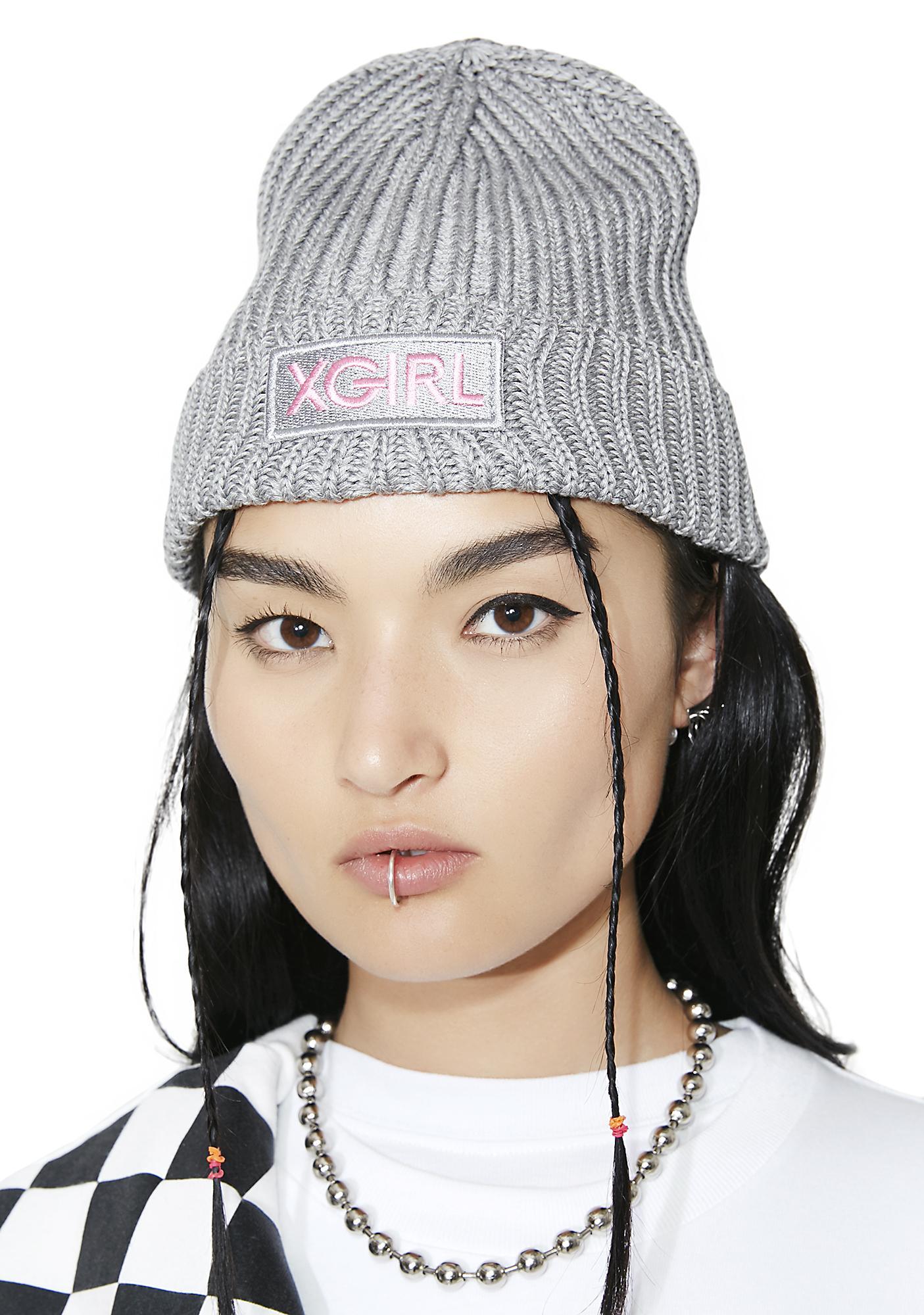 x-Girl Logo Knit Beanie