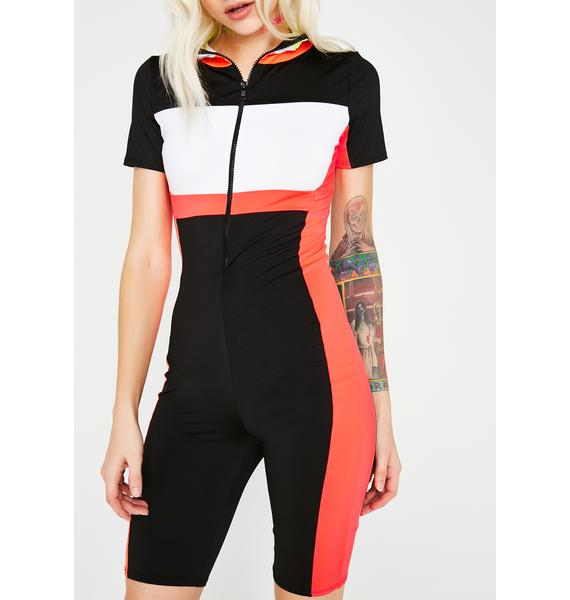 On The Fast Lane Jumpsuit