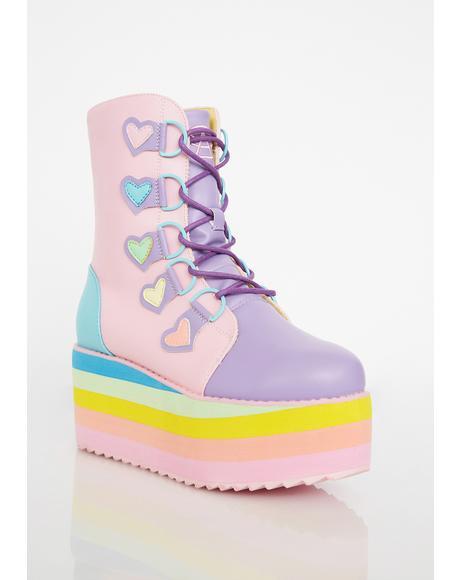 Stomp Heart Boots