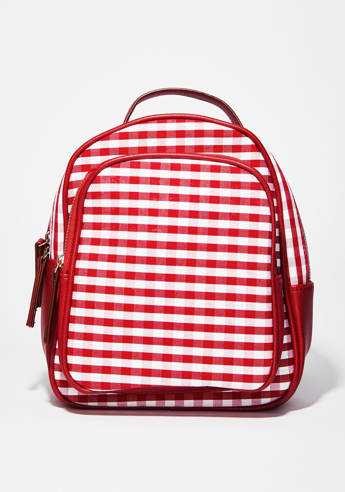Hot Skippin' Along Gingham Backpack