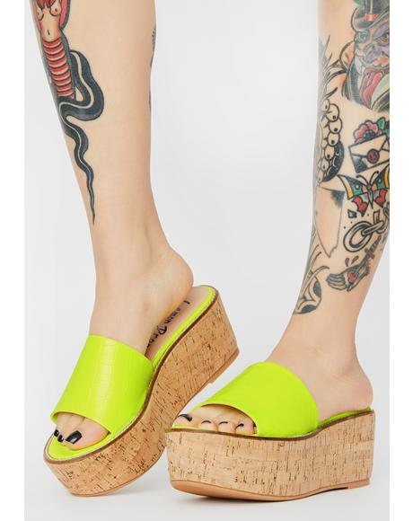Fiji Platform Sandals