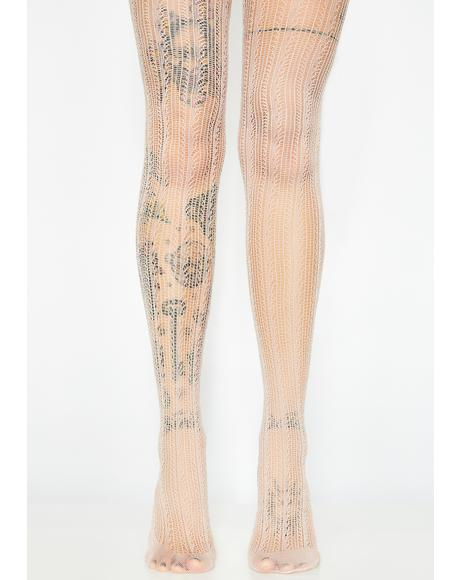 Bolder Babe Crochet Tights