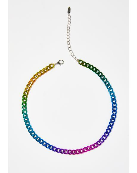 Prism Electric Chain Choker