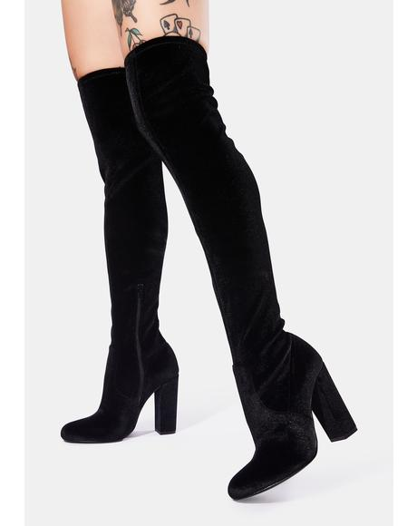 Brenda Knee High Boots
