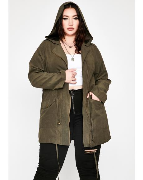 She's Feelin' Tough Anorak Jacket