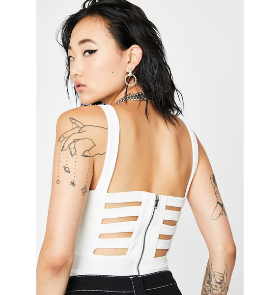 Claim The Game Cut-Out Bodysuit