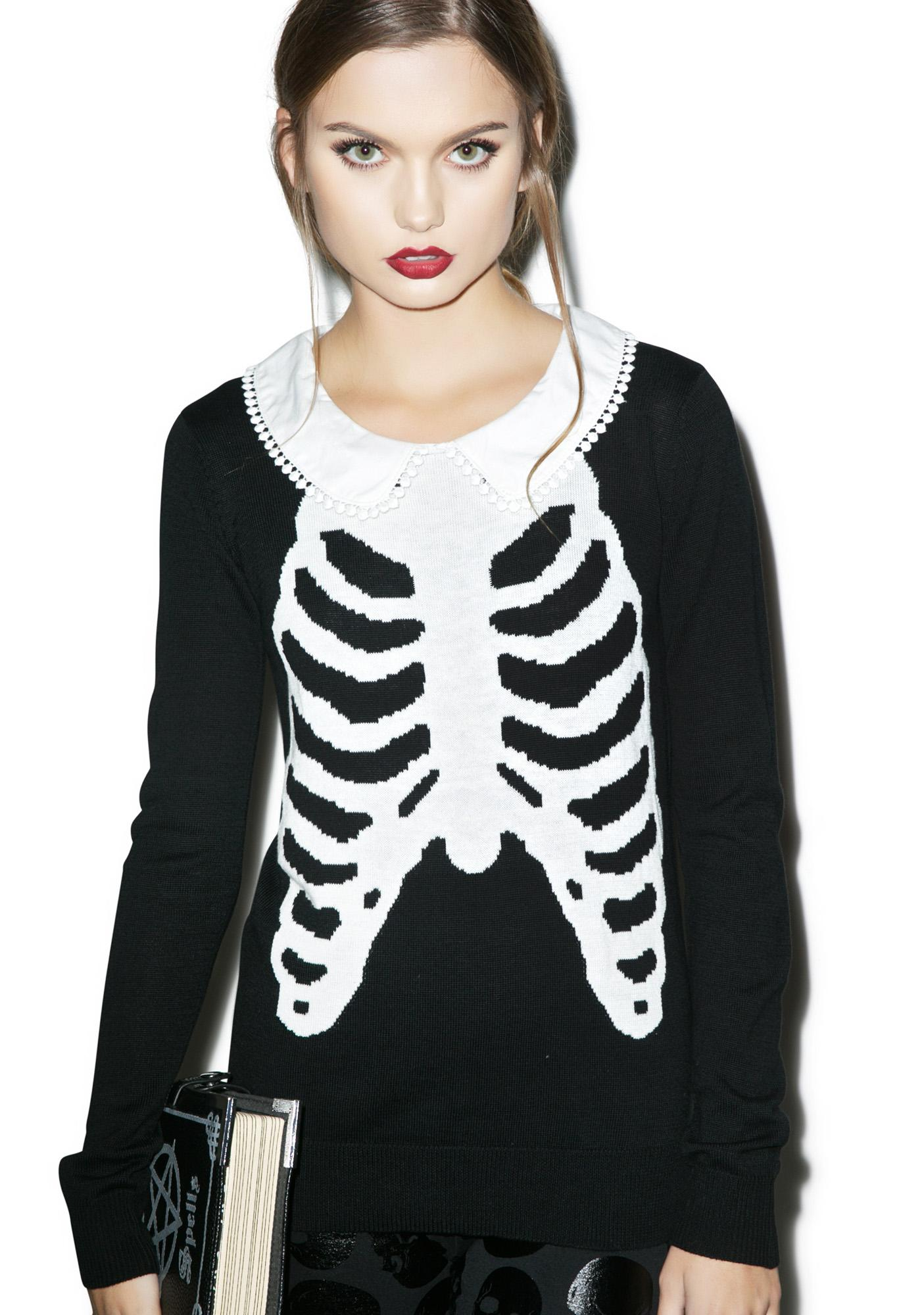 427d8b76760da Iron Fist Wishbone Girly Sweater