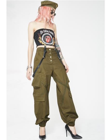 Up Your Rank Cargo Pants