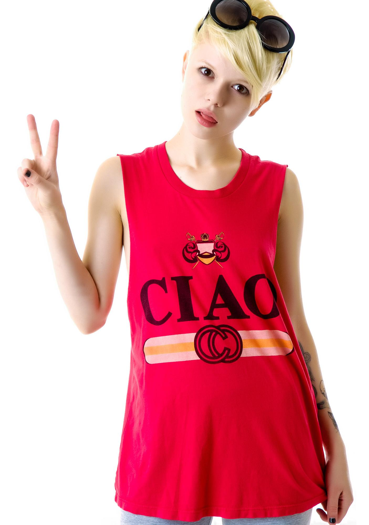 Rebel Yell Ciao Cut-Off Tank