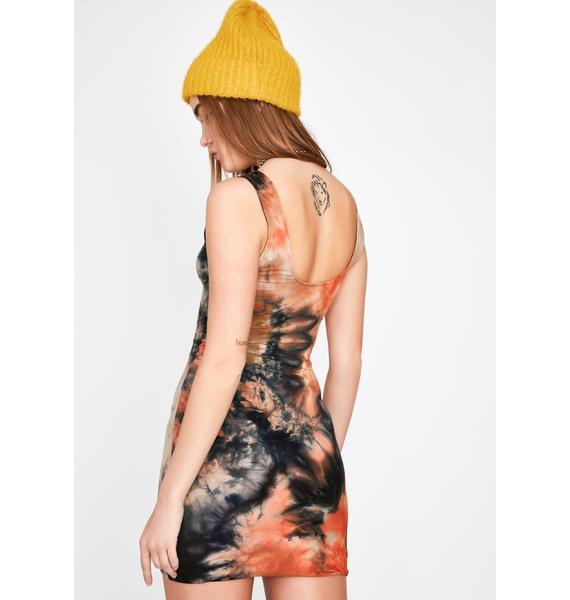 Hardcore Through The Ringer Mini Dress