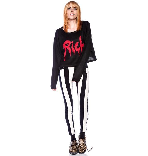 Joyrich Drop Rich Knit Crew Sweater