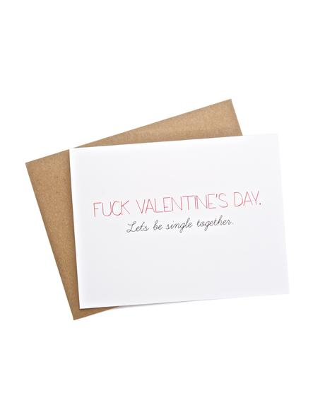 Fuck V-Day Card