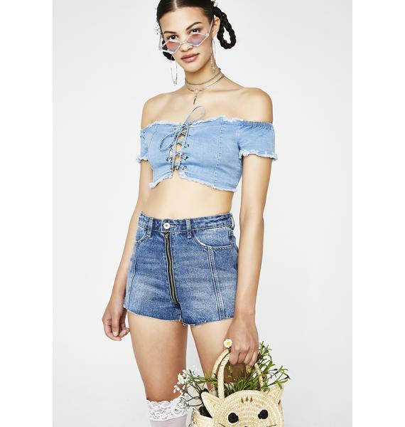 Summa Tingz Denim Shorts