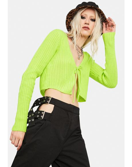 Desire Ribbed Knit Crop Top