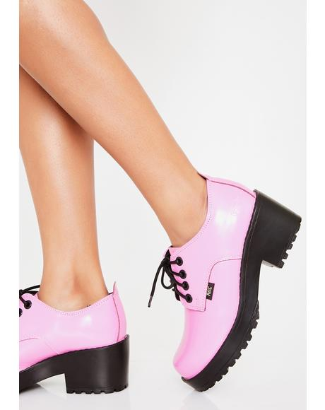 Candy Chickadee Low Boots