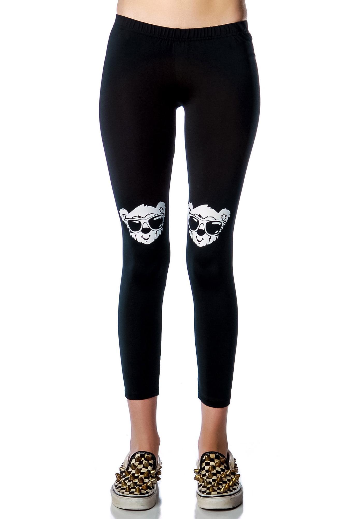Joyrich Bear Printed Leggings