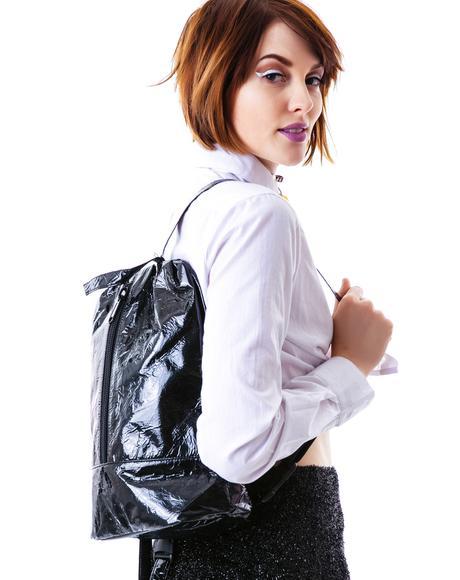 Distressed Hologram Backpack