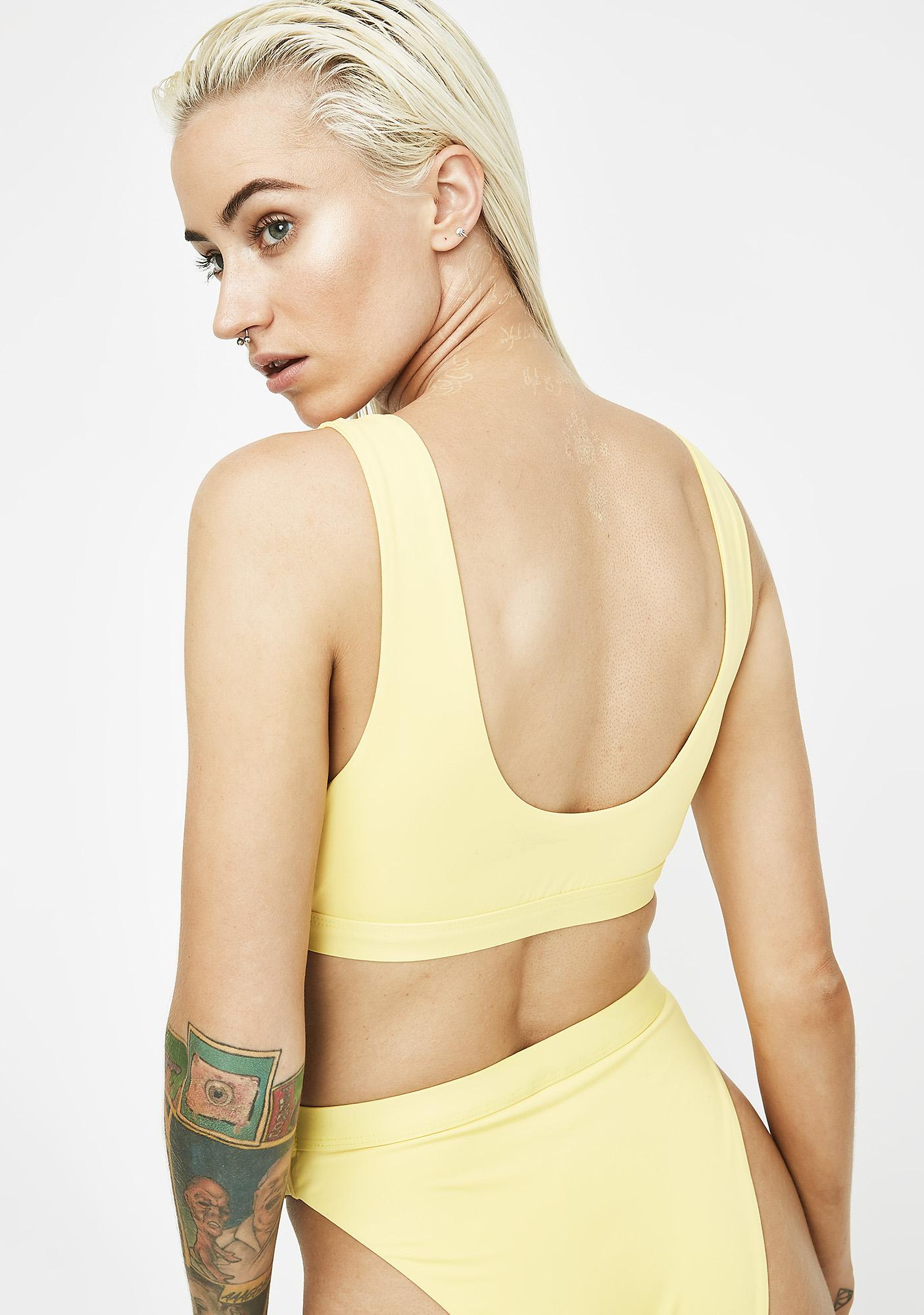 Sunny Seamless Sport Bikini Top