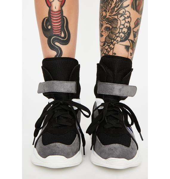 Cyber Playground Chunky Sneakers