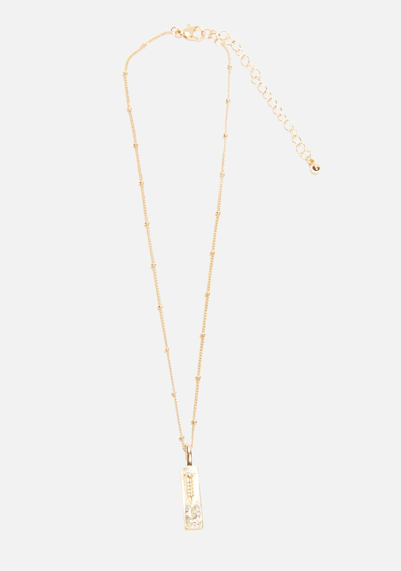 Get Lost Pendant Necklace