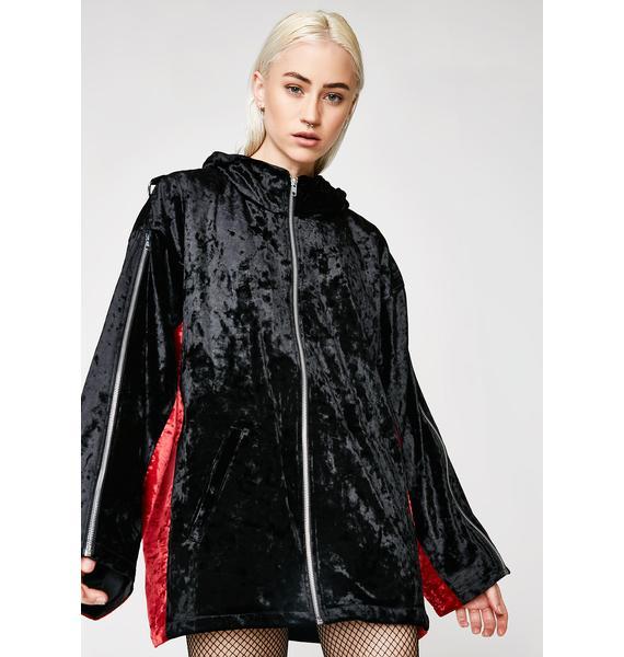 Whatever 21 Velvet Track Jacket