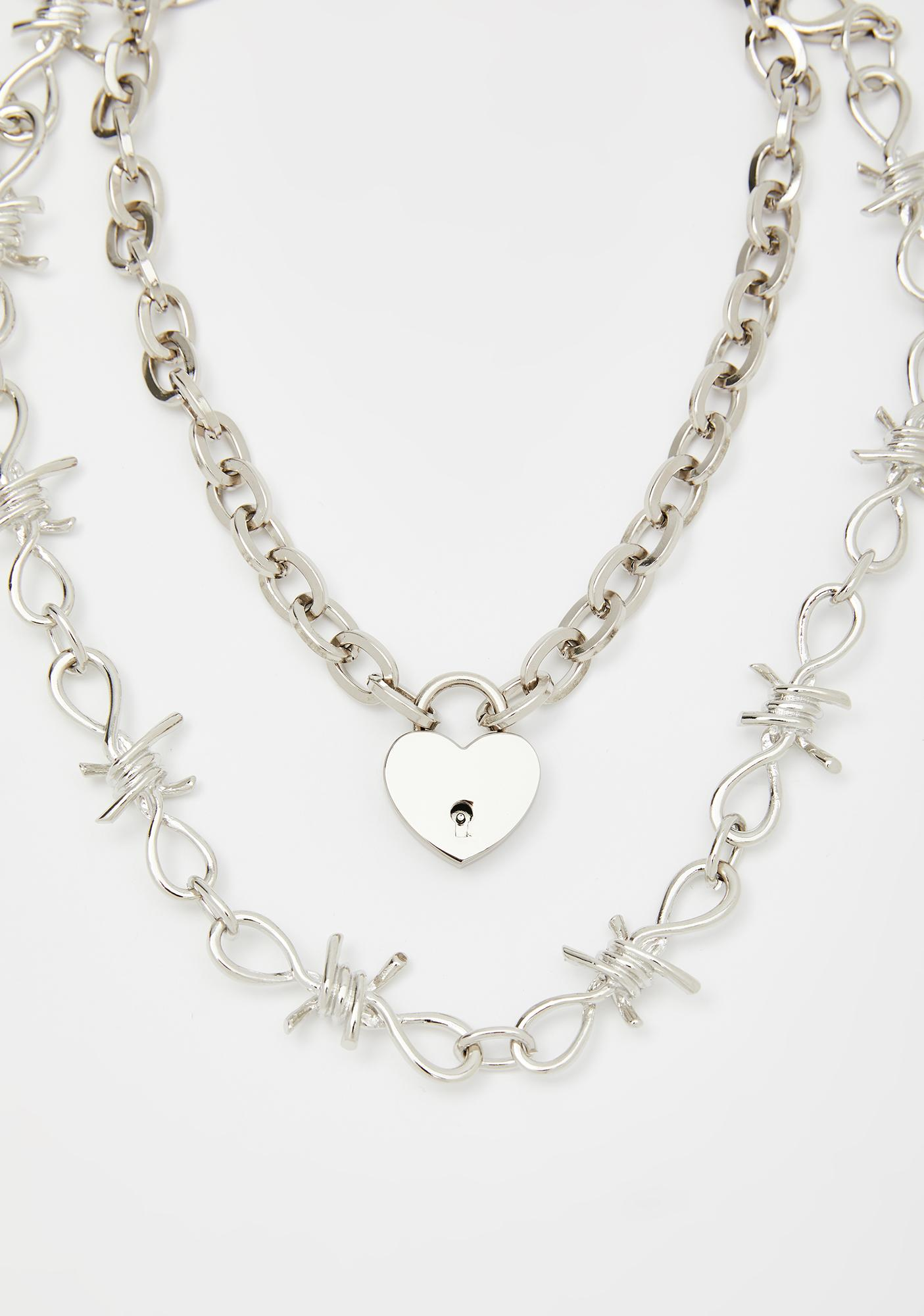 Lethal Lova Chain Necklace