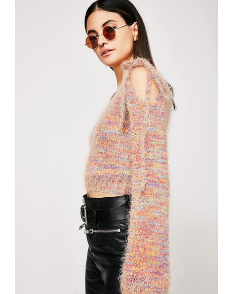 True Colors Rainbow Sweater