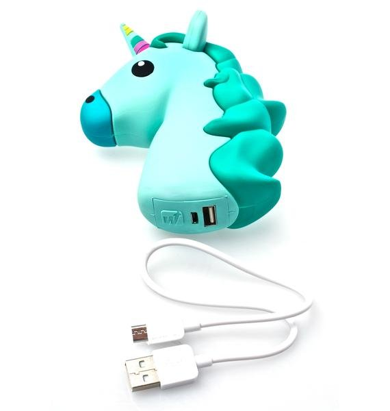 Wattzup Minty Unihorn Power Bank