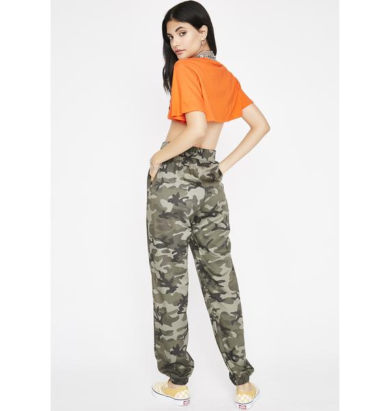 Moving Forward Camo Joggers