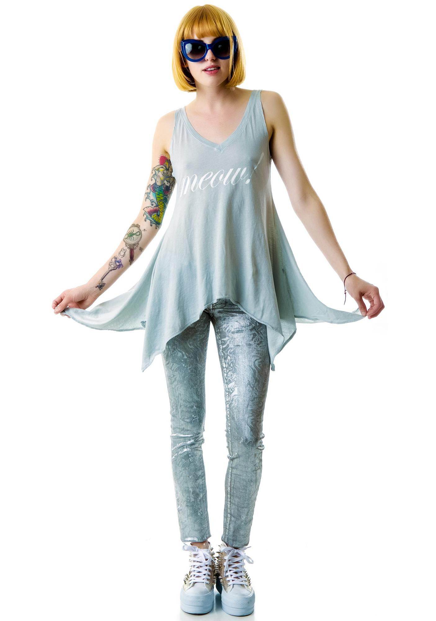 Wildfox Couture Meow! Dreamer Tank