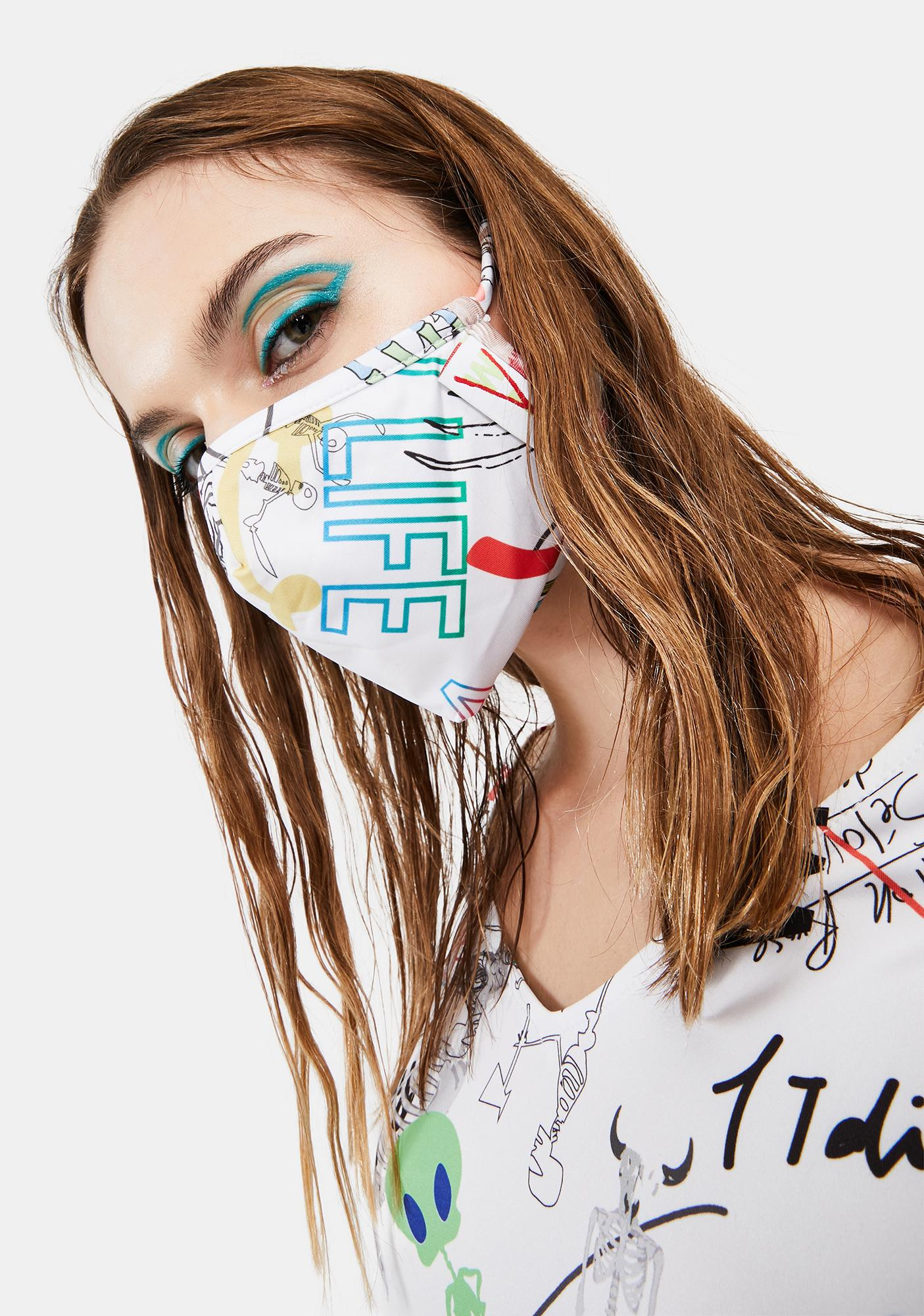 W.I.A Brushstroke Face Mask