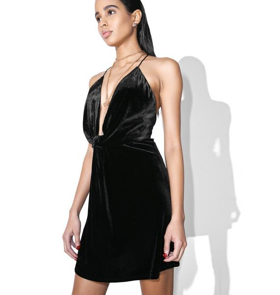 Nighttiming Mini Dress