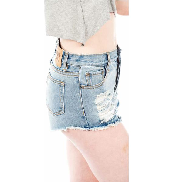 Somedays Lovin ' Cheap Trick Trashed Shorts