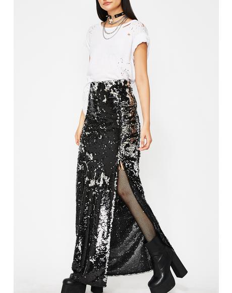 Forever Shinin' Sequin Skirt