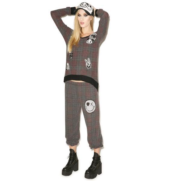 Lauren Moshi Tanzy One Happy Leg Pants