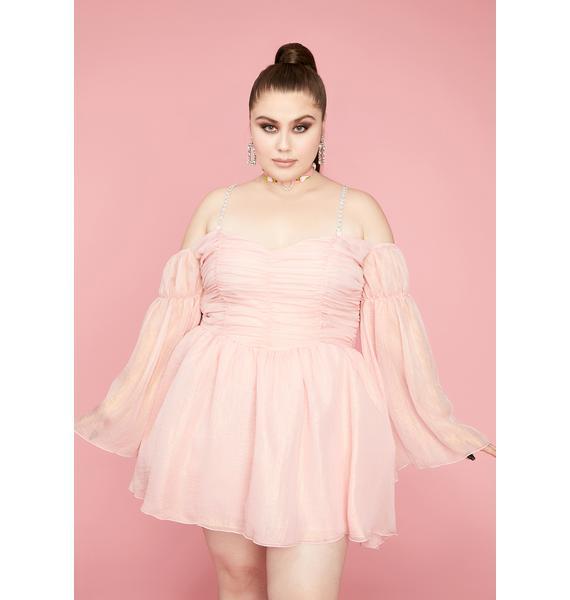 Sugar Thrillz So Let Them Eat Me Chiffon Corset Dress
