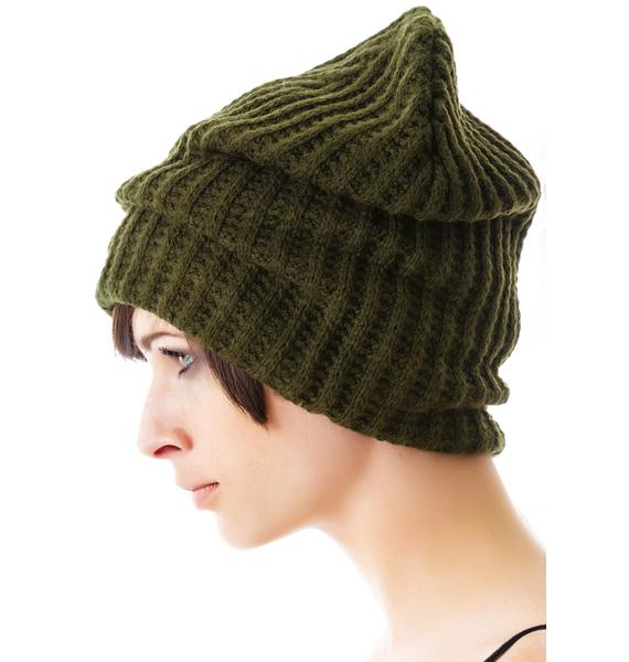 Plush Edie Fleece Lined Thermal Knit Hat